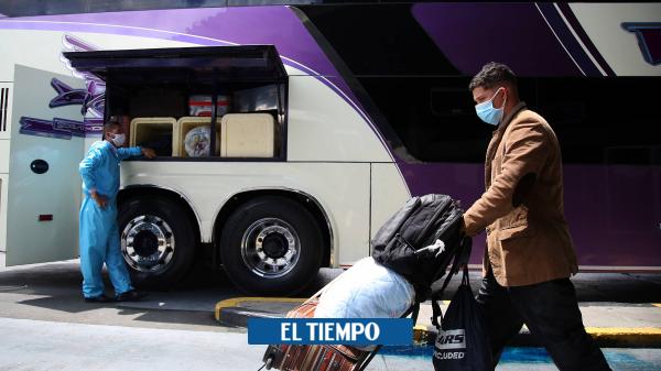 Aumentó número de viajeros en Colombia con respecto al 2019 Coronavirus - Finanzas Personales - Economía
