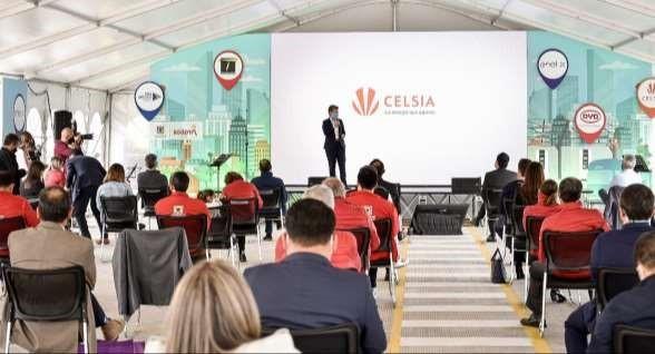 Celsia entrega 120 buses eléctricos a Transmilenio