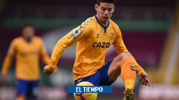 James Rodríguez no juega este sábado con Everton frente al Arsenal según confirma Ancelotti - Fútbol Internacional - Deportes