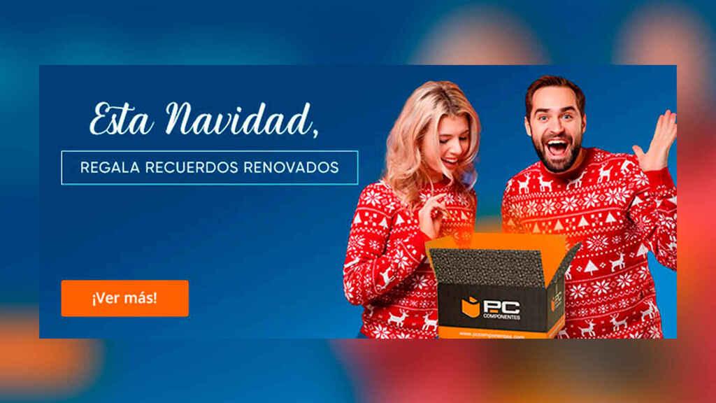 La tecnología es la protagonista en los regalos de Navidad con PcComponentes