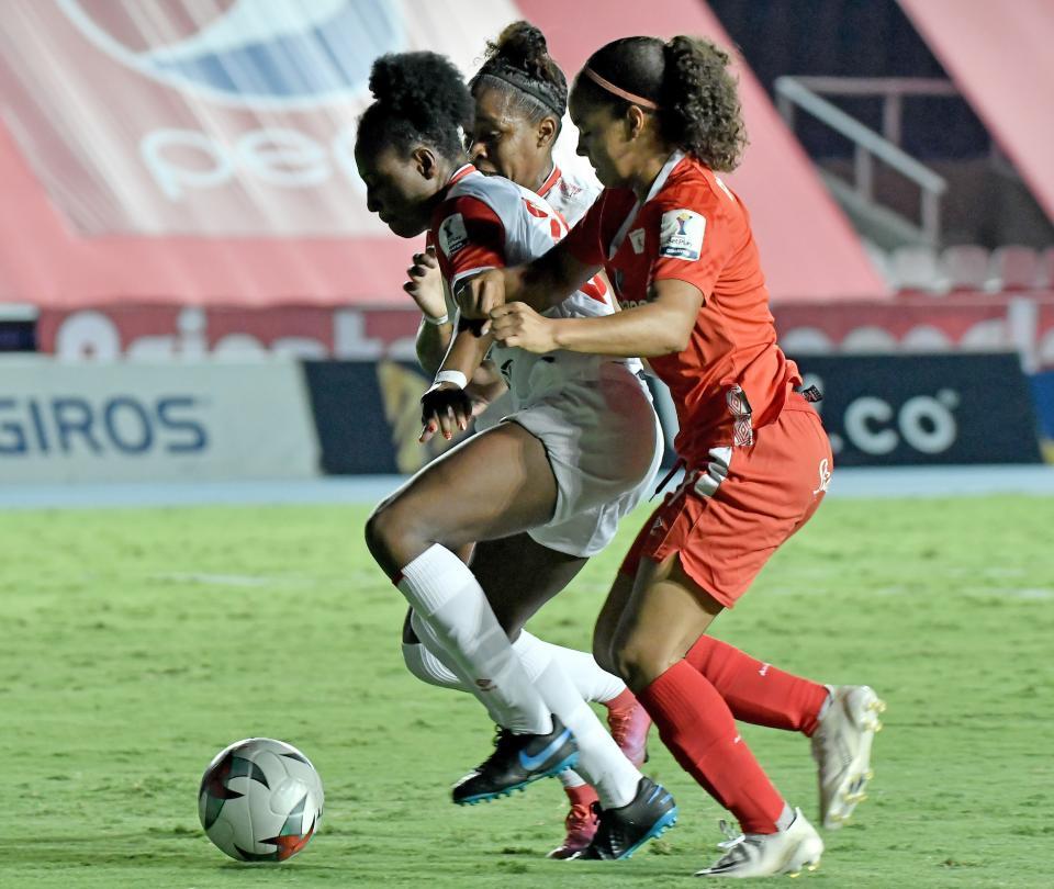 Liga Femenina   Santa Fe derrotó 1-2 a América de Cali en partido de ida 2020   Futbol Colombiano   Fútbol Femenino