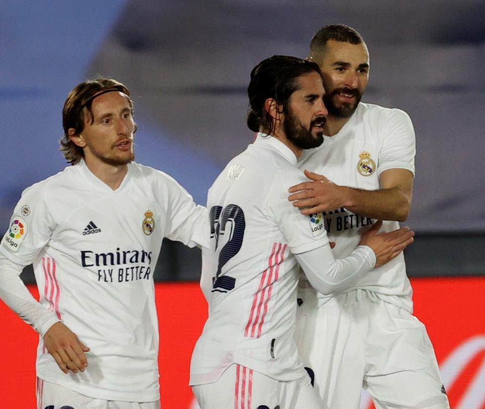 Real Madrid vence al Bilbao 3-1 en la Liga de España - Fútbol Internacional - Deportes