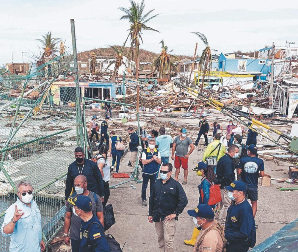 San Andrés: Reconstrucción de 1.000 casas tras huracán Iota en las islas iniciará hasta enero | Economía