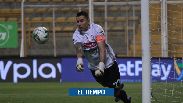 Santa Fe vs América: Habla Leandro Castellanos de la vuelta de la final - Fútbol Colombiano - Deportes