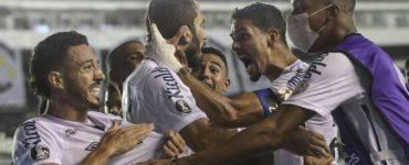 Santos goleó a Gremio y se convirtió en el segundo semifinalista de la Copa Libertadores