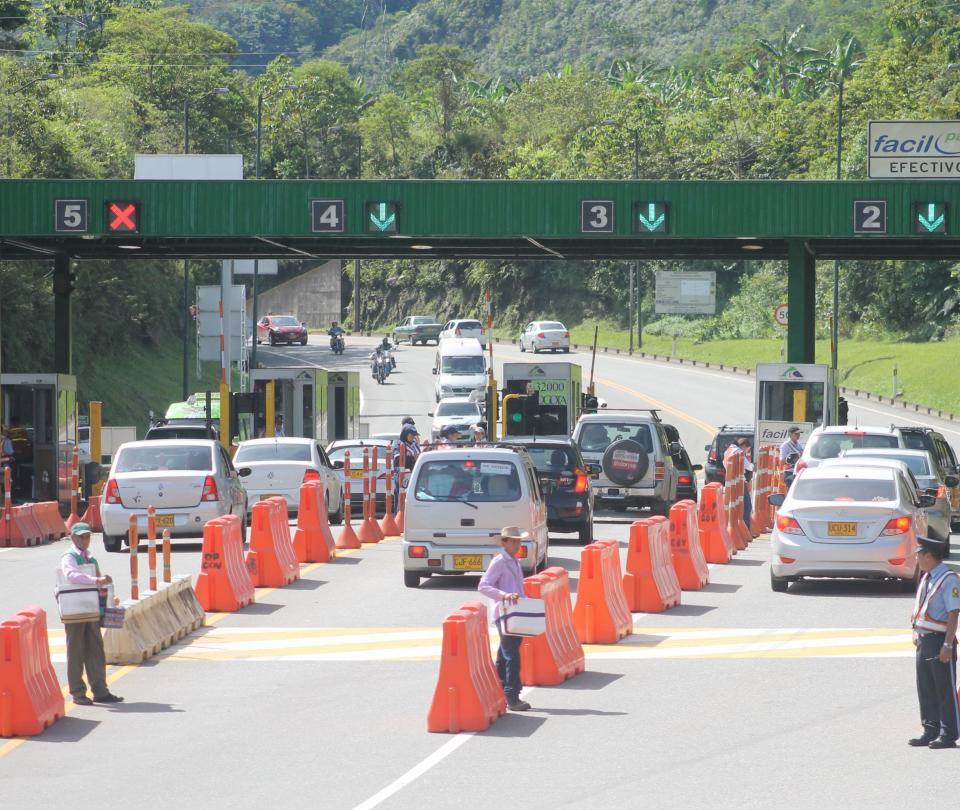 Transporte: El costo de los peajes a los principales destinos de Colombia | Economía