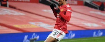 Un gol de Rashford pone al Manchester United segundo de la Premier League