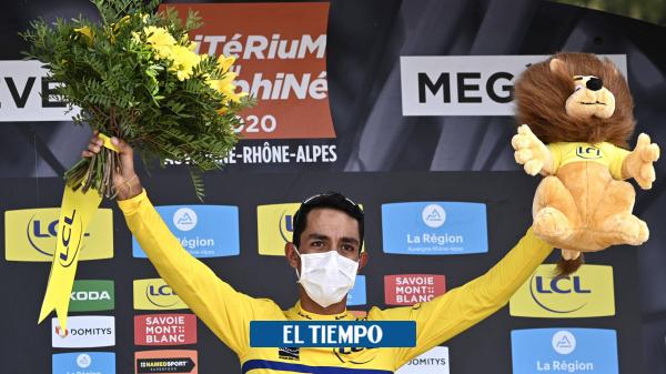 Video: Daniel Martínez, deportista del año 2020 para EL TIEMPO - Ciclismo - Deportes