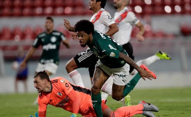 ¡Dura caída! Palmeiras goleó a River Plate en en ida de semifinales de la Copa Libertadores