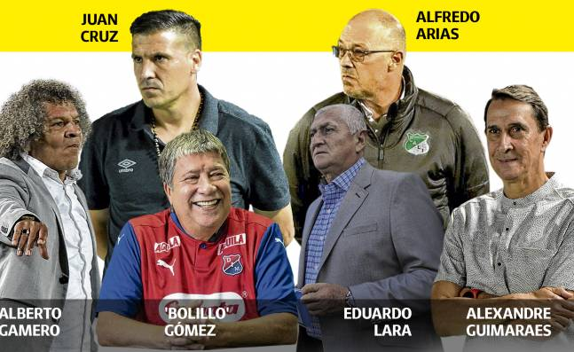 ¡Una Liga de maestros! El rentado colombiano tendrá técnicos de lujo en la temporada 2021