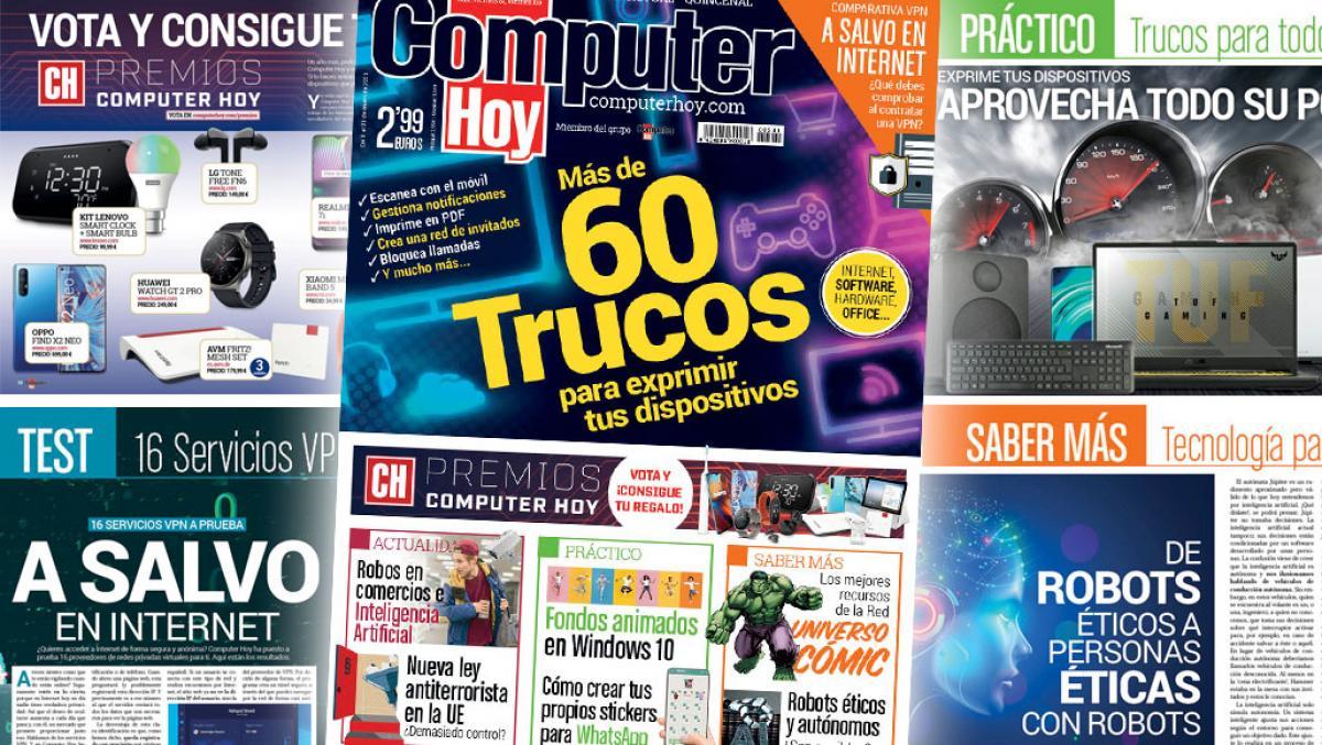 ¡Ya está en tu quiosco el número 581 de Computer Hoy! | Tecnología