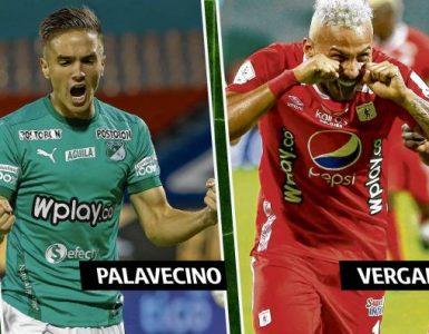 ¿Se van? Agustín Palavecino y Duván Vergara, a un paso de isalir de Deportivo Cali y América de Cali