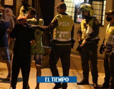 Alerta Cali:Tres menores lesionados, tras operativo para disipar fiesta en Cali - Cali - Colombia