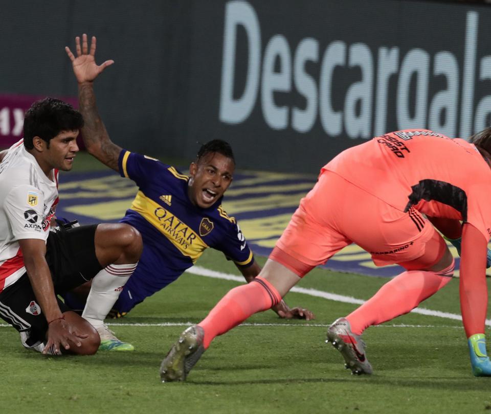 Boca Juniors vs. River Plate. resultado y goles del partido Copa Diego Armando Maradona - Fútbol Internacional - Deportes