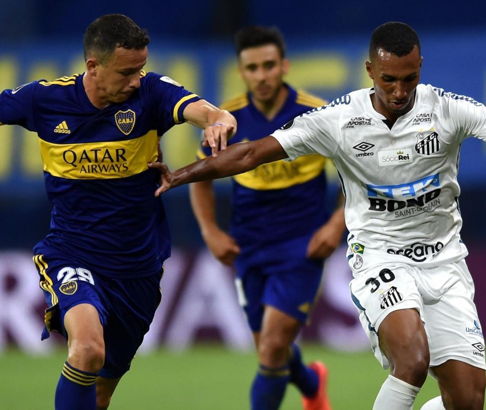 Boca Juniors vs. Santos: resultado y goles del partido Copa Libertadores 2020 semifinal - Fútbol Internacional - Deportes