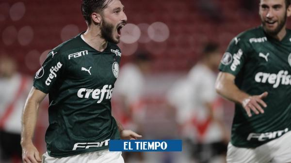 Copa Libertadores: River pierde 0-3 contra Palmeiras en la ida semifinal - Fútbol Internacional - Deportes