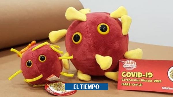 Covid 19 | Peluche a la venta del Coronavirus causa furor en tiendas de España | Viral - Gente - Cultura