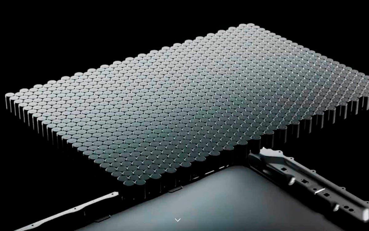 celdas 4680 bateria estructural de Tesla