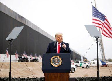 El presidente saliente de los Estados Unidos, Donald Trump. Foto REUTERS/Carlos Barria