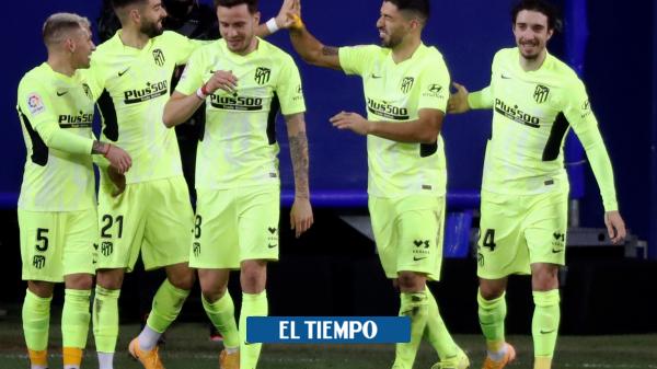 Éibar 1-2 Atlético de Madrid: crónica y estadísticas de la Liga de España - Fútbol Internacional - Deportes