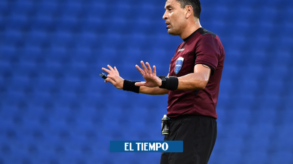 El penalti que no le sancionaron a Santos en el partido contra Boca Juniors - Fútbol Internacional - Deportes
