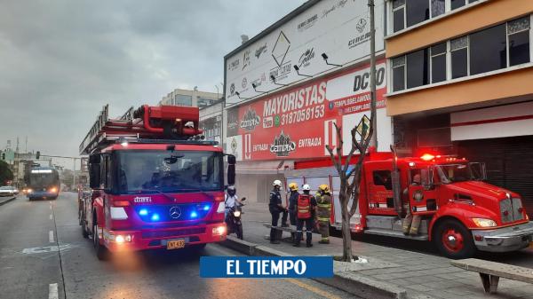Emergencia: Alerta en el centro de Cali por posible incendio - Cali - Colombia