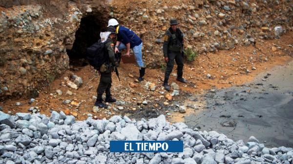 Emergencia: Derrumbe de mina deja cuatro muertos en Santander de Quilichao - Cali - Colombia