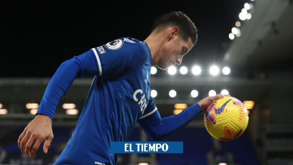 Entrevista: James Rodríguez habló de su llegad al Everton, Yerry Mina y de Carlo Ancelotti - Fútbol Internacional - Deportes