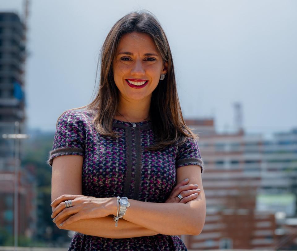 Entrevista con María Fernanda Quiñonez'La logística del e-commerce aún tiene que madurar'. | Economía