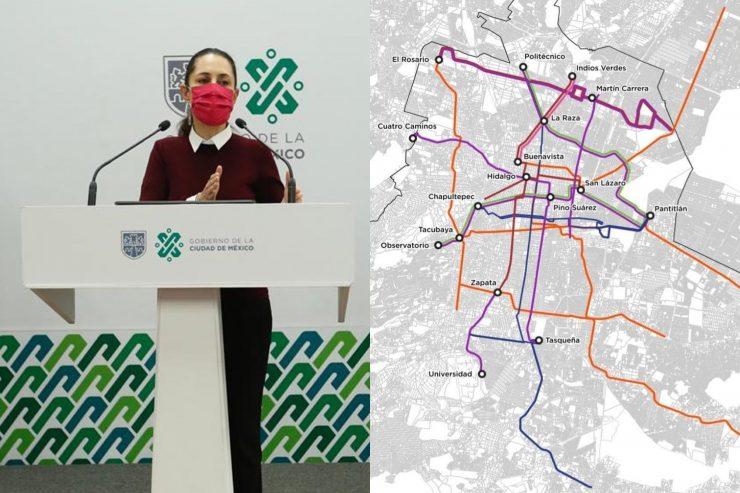 Metro CDMX: Este es el transporte que sustituirá a las seis líneas inhabilitadas