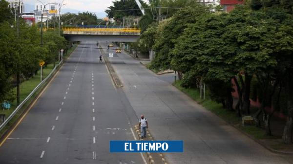 Evalúan si toque de queda en el fin de semana en Cali va hasta lunes - Cali - Colombia