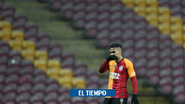 Falcao García se vuelve a lesionar en su primer partido del 2021 con Galatasaray - Fútbol Internacional - Deportes