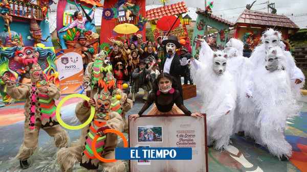 Historia de la familia Castañeda en Pasto en el carnaval de Blancos y Negros - Cali - Colombia