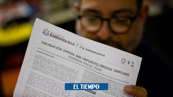 Impuesto predial 2021 y el coronavirus Barranquilla - Barranquilla - Colombia