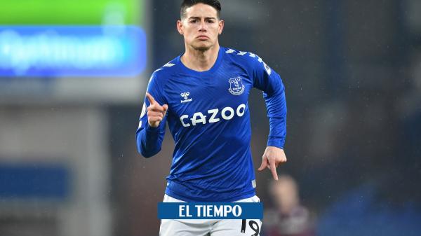 James Rodríguez: análisis de su buen momento en Everton y la Premier League - Fútbol Internacional - Deportes