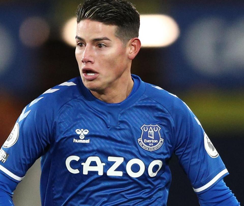 James Rodríguez: análisis de su reaparición con Everton luego de su lesión - Fútbol Internacional - Deportes
