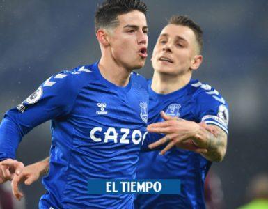 James Rodríguez: análisis del momento y nivel de James en el Everton - Fútbol Internacional - Deportes