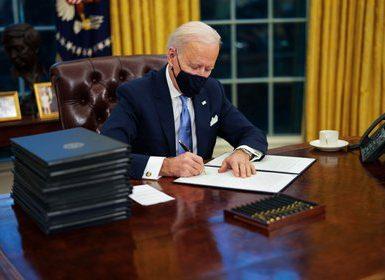 El presidente de Estados Unidos, Joe Biden. Doug Mills / CNP / Polaris