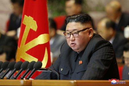 El dictador de Corea del Norte, Kim Jong-un