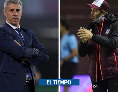 Lanús vs Defensa y Justicia: enfrentamiento entre Hernán Crespo y Luis Zubeldía - Fútbol Internacional - Deportes