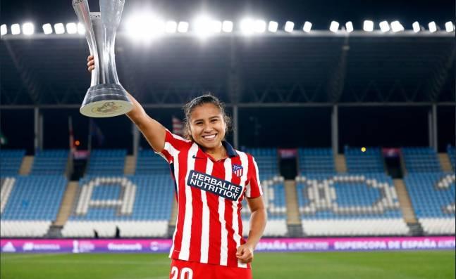Leicy Santos, figura del Atlético de Madrid femenino