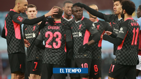 Liverpool goleó al Aston Villa, que tuvo baja por coronavirus - Fútbol Internacional - Deportes