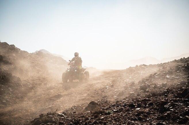 Los cuatro colombianos que partirán en el Rally Dakar