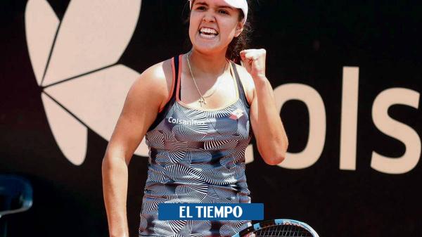 María Camila Osorio venció a la estadounidense Hailey Baptiste en el Abierto de Australia - Tenis - Deportes