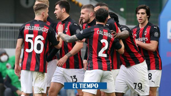Milan tiene bajas por positivos con a covid-19 - Fútbol Internacional - Deportes