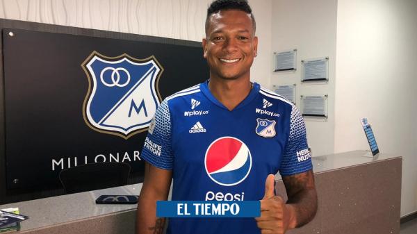 Millonarios presenta a Harrison Mojica como refuerzo para el 2021 - Fútbol Colombiano - Deportes