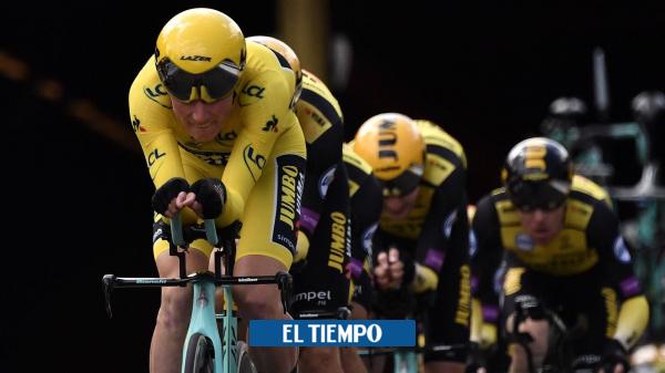 Primoz Roglic, Tom Dumoulin y Steven Kruijswijk, al Tour de Francia 2021 - Ciclismo - Deportes
