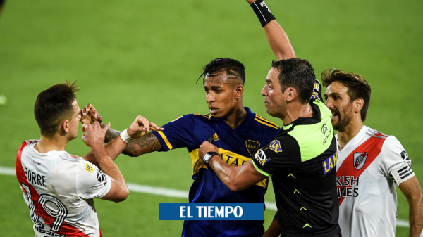 Rafael Santos Borré y Sebastián Villa hablan del empate en el Superclásico - Fútbol Internacional - Deportes