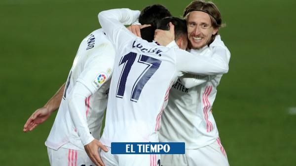Real Madrid vence a celta de Vigo y es líder de la liga española - Fútbol Internacional - Deportes