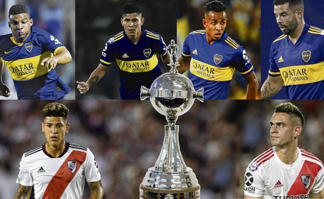 River Plate y Boca Juniors sueñan con ganar la Copa Libertadores con talento colombiano